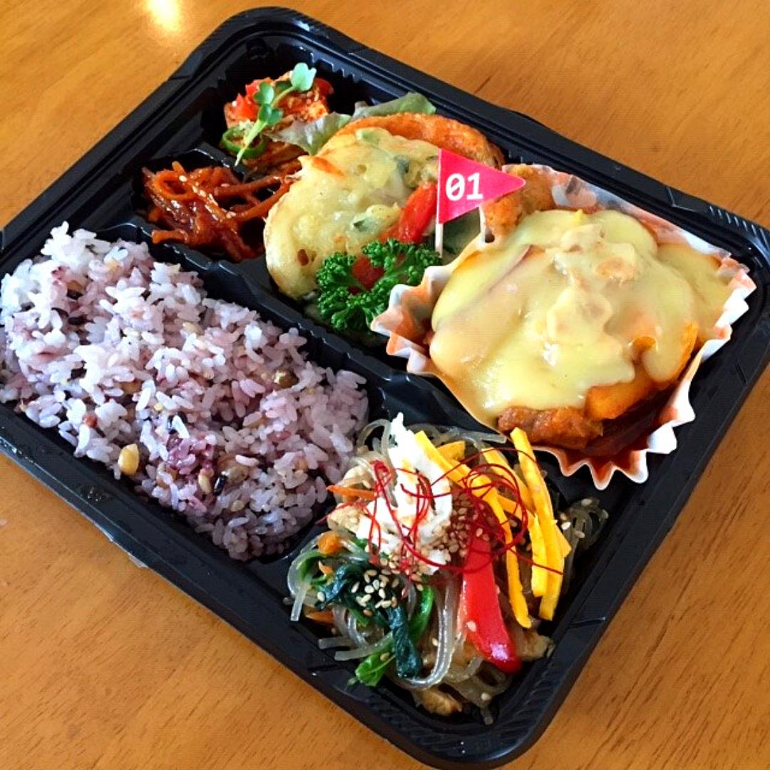 韓国料理お弁当