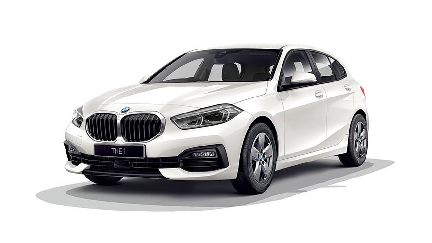BMW1シリーズホワイト
