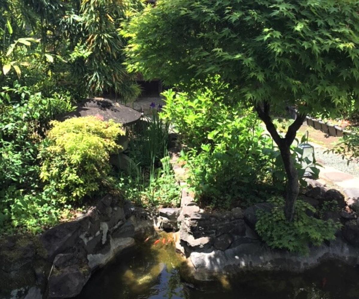 武蔵屋本店の庭